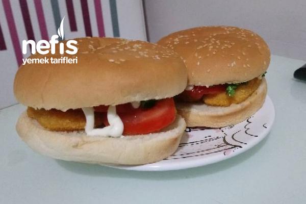 Evde Pratik Hamburger Tarifi