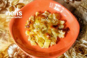 Fırında Kaşar Peynirli Patates Tarifi