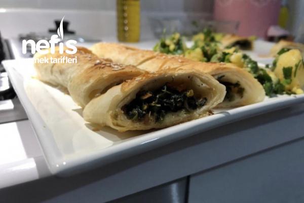 Ispanaklı Börek (Kavurmalı) Tarifi