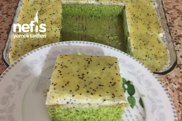 Ispanaklı Kivili Pasta Tarifi