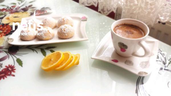 Limonlu Catlak Kurabiye (mis Kokularla)
