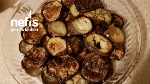 Patlıcanlı Köfte(kızartmadan, Fırında Pişirilen Harika Lezzet)