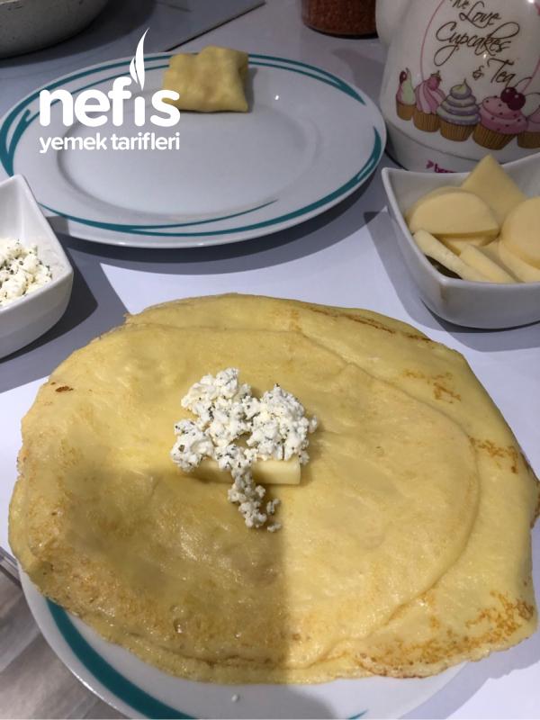 Peynirli Krep Börek