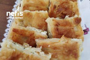 10 Dakikada Su Böreği (Hazır Yufkadan) Tarifi