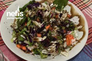 Bol Vitaminli Gerçek Kış Salatası Tarifi