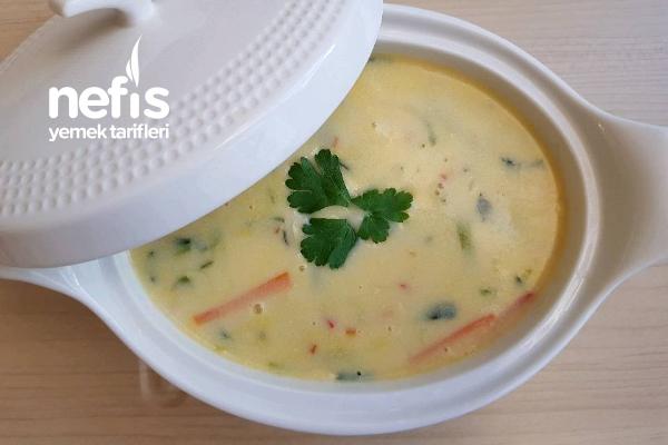 Sütlü Sebze Çorbası(tam Ölçülü) Tarifi