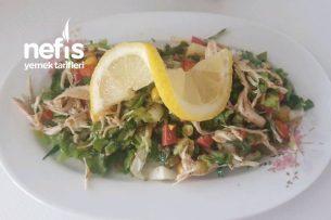 Arkadaş Toplantılarına Yakışır Tavuk Salatası (Favori Salata) Tarifi