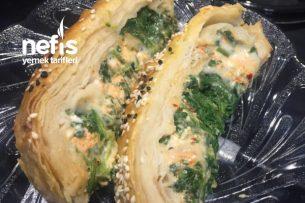 Ispanaklı Peynirli Fırın Böreği Tarifi