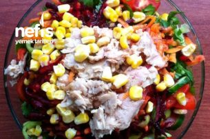 Tonbalıklı Salata Tarifi