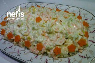 Coleslaw Salata (Kfc Nin Meşhur Salatası) Tarifi