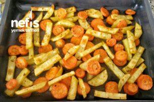 Fırında Havuç Ve Patates Tarifi