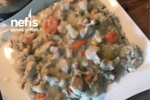 Kremalı Sebzeli Tavuk Lezzetine Doyum Olmuyor Tarifi