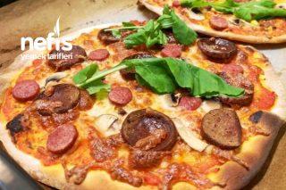 Nefis İnce Hamur Pizza Tarifi