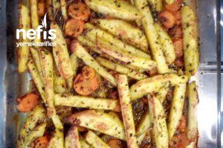 Bol Baharatlı Patates Tarifi