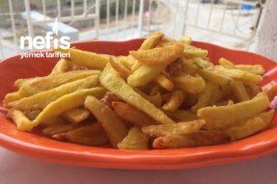 Çıtır Çıtır Patates Kızartması (Çok Lezzetli) Tarifi