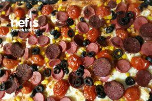 Çökelekli Ev Pizzası Tarifi