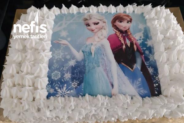 Elsa Doğum Günü Pastası Tarifi