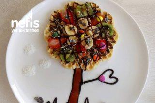İki Kişilik Waffle ( Parti ) Tarifi