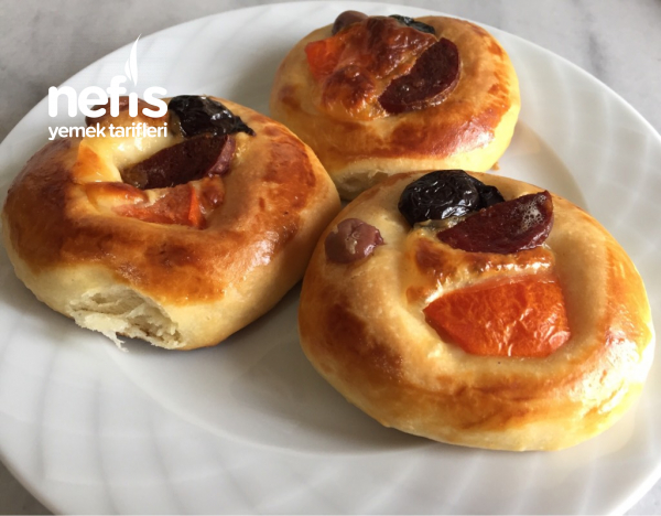 Pastane Usulü Pizza Poğaça