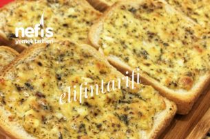 Yumurtalı Peynirli Ekmek (Videolu) Tarifi
