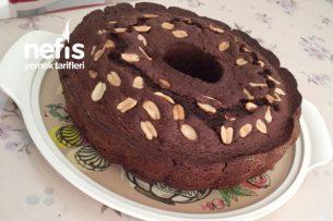 Çikolatalı Kakaolu Fıstıklı Kek Tarifi