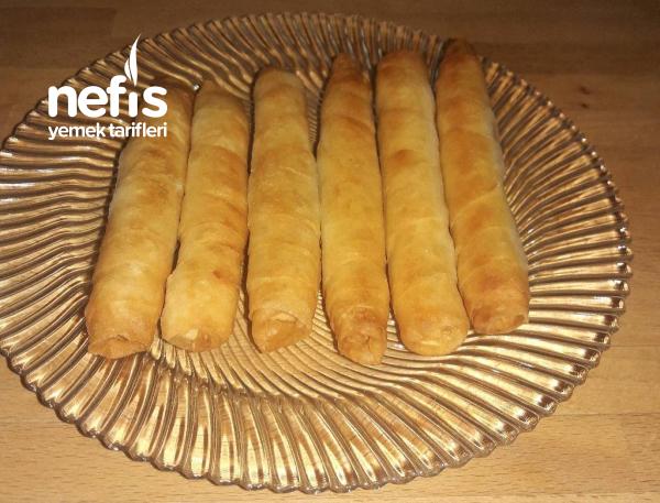 Dışı Çıtır İçi Yumuşacık Sigara Böreği (lor Peynirli)