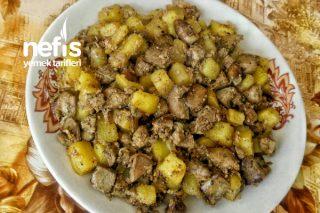 Patatesli Ciğer Tava (Piliç) Tarifi