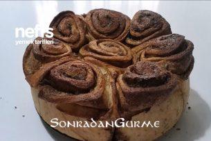 Tarçınlı Kahve Soslu Çörek Donut With Cinnamon Coffee Sauce (Videolu) Tarifi