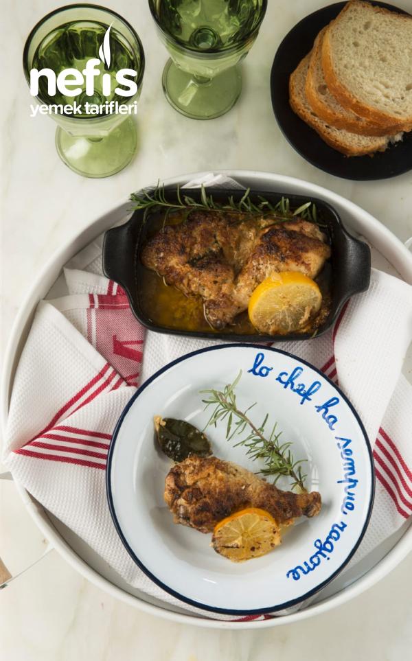 Krem Peynirli Fırın Tavuk