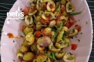 Zeytin Salatası Hatay Usulü Tarifi