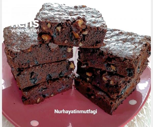 Cevizli Brownie (damakları Şenlendiren Lezzet)