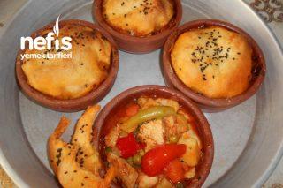 Güveçte Porsiyonluk Tavuklu Orman Kebabı Tarifi