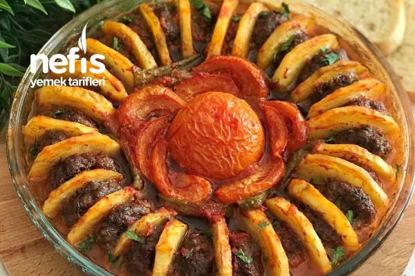 Köfteli Patates Dizmesi Tarifi