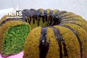 Kremalı Ispanaklı Sünger Kek Tarifi