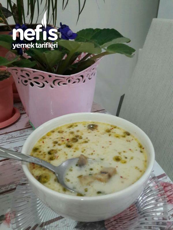 Kremalı Mantar Çorbası(sarımsaklı Ve Sirkeli)