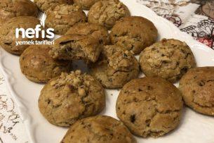 Nefis Çaylı Kahveli Fındıklı Kurabiye (5 Dakikada Hazır) Tarifi