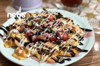 Waffle Muhteşem Tarif Tarifi