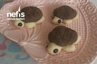 Çocuklar İçin Kaplumbağa Kurabiye Tarifi