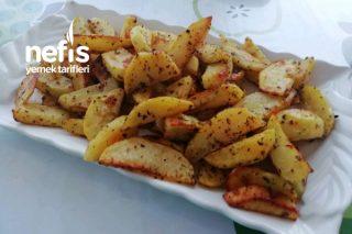 Fırında Kekikli Patates Tarifi