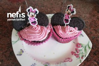 Minnie Mouse Cupcake Tarifi
