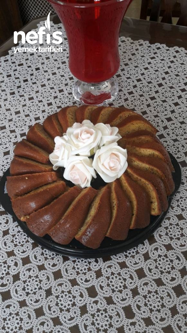 Portakallı Havuçlu Fındıklı Kek