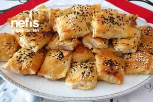 Süzme Peynirli Minik Börek Küpleri Tarifi