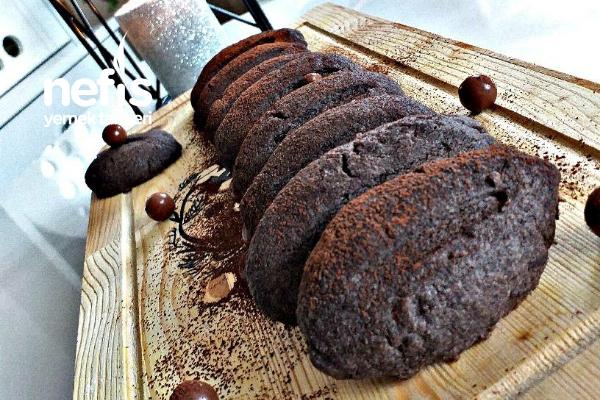 Kakaolu Kurabiye (10 dakika da )