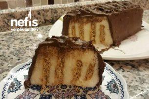 Bisküvili İrmik Tatlısı (Beş Dakikada Muhteşem Misafir Tatlısı ) Tarifi
