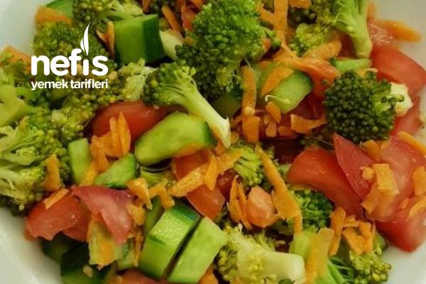 Brokolili Nefis Salata Tarifi