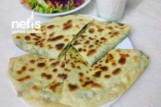 El Açması Ispanaklı Tava Böreği Tarifi