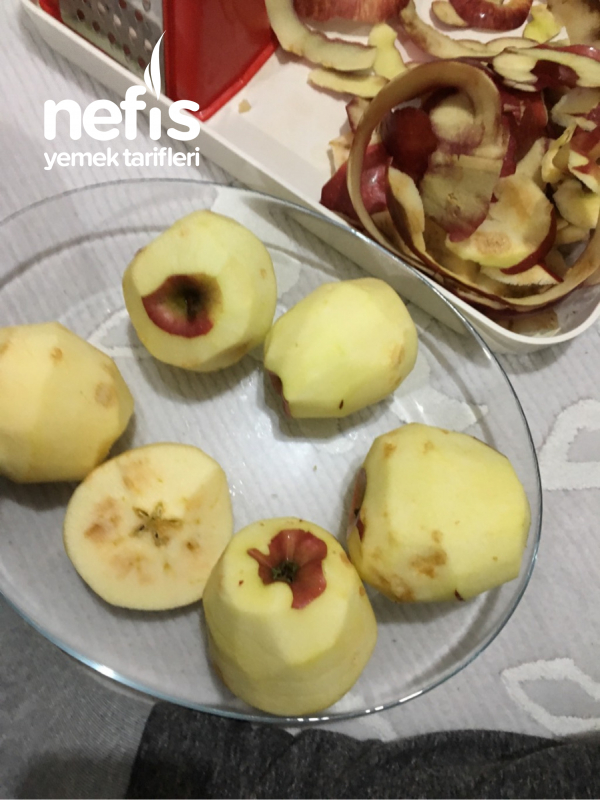 Elmalı Kurabiye( Çikolatalı-şekersiz)