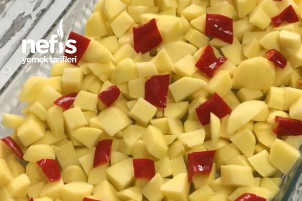Kızartmadan Yapılan Patates Oturtma