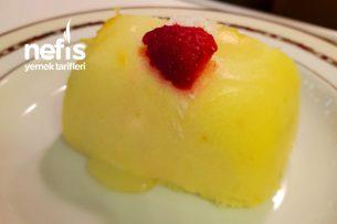 Limon Soslu İrmik Tatlısı Tarifi
