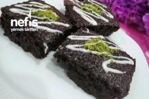 Sufle Tadında Çikolatalı Islak Kek Tarifi